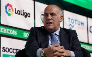 Шефът на Ла Лига нападна Перес заради Суперлигата