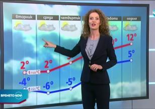 Прогноза за времето (01.12.2020 - обедна емисия)