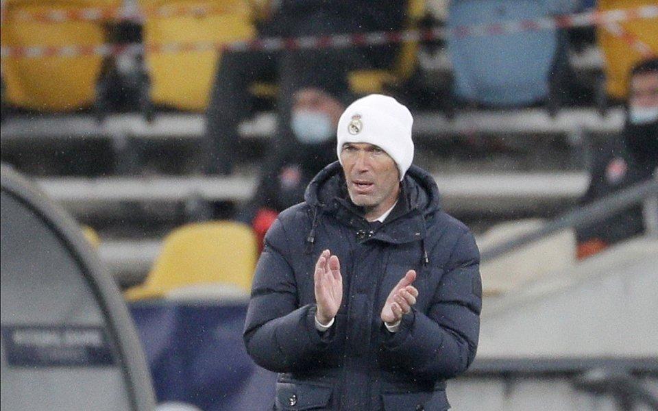Треньорът на Реал Мадрид Зинедин Зидан заяви категорично, че няма