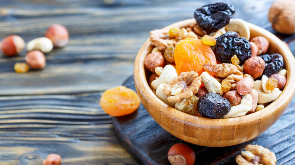 сушени плодове здравословно храна