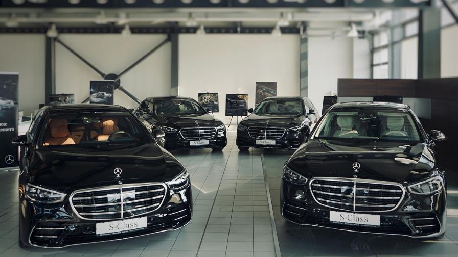 Mercedes-Benz S-Class е вече в шоурумовете на официалния представител на марката у нас.