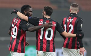 Трилър в Милано класира Милан напред в Лига Европа