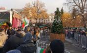 <p>Напрежение в столицата, протестиращи нахлуха на Немския коледен базар</p>