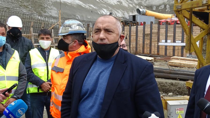 Борисов провери новата отсечка от Околовръстното в София