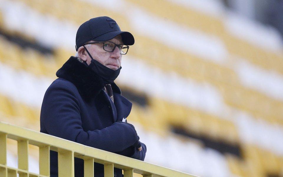 Техническият директор на ЦСКА Алан Пардю отново е свързван със