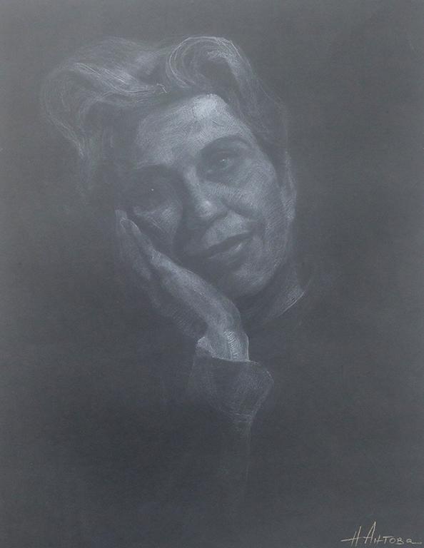 <p>Портрет в бяло</p>