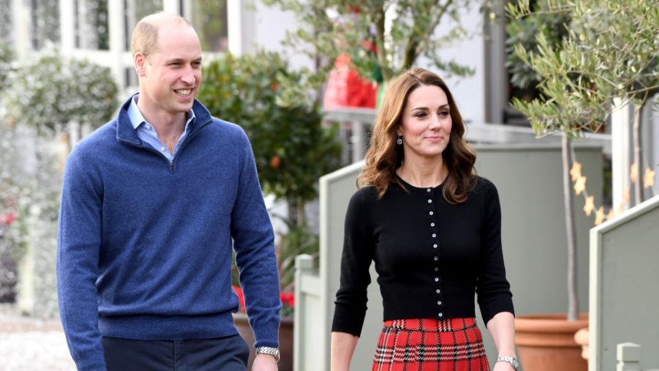 Кейт Мидълтън принц Уилям Коледа