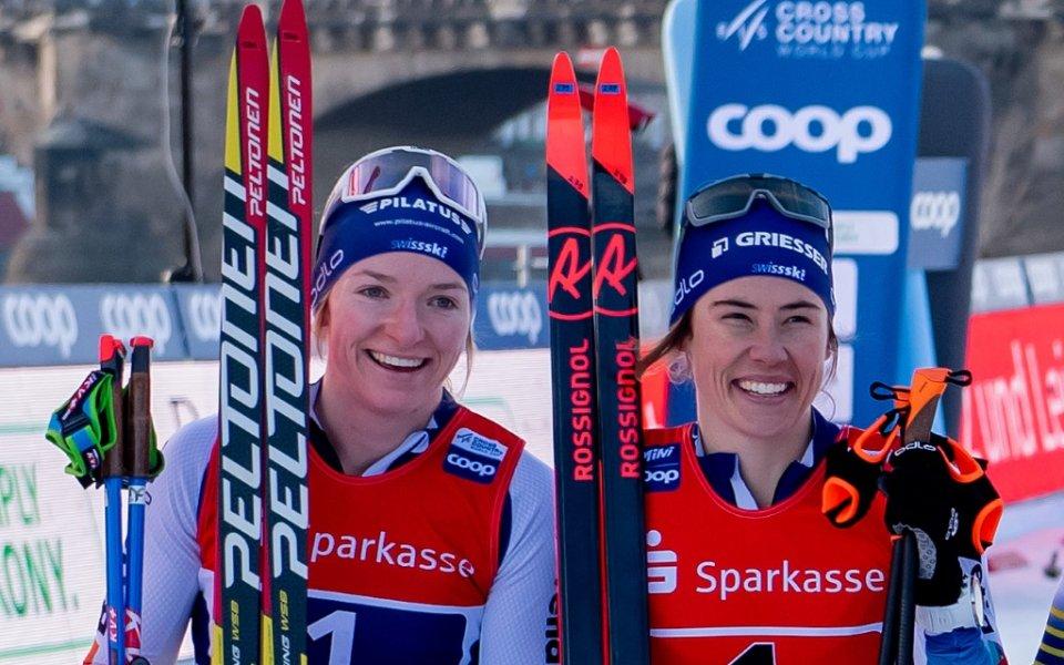 С невероятен финален спринт първият отбор на Швейцария спечели отборния