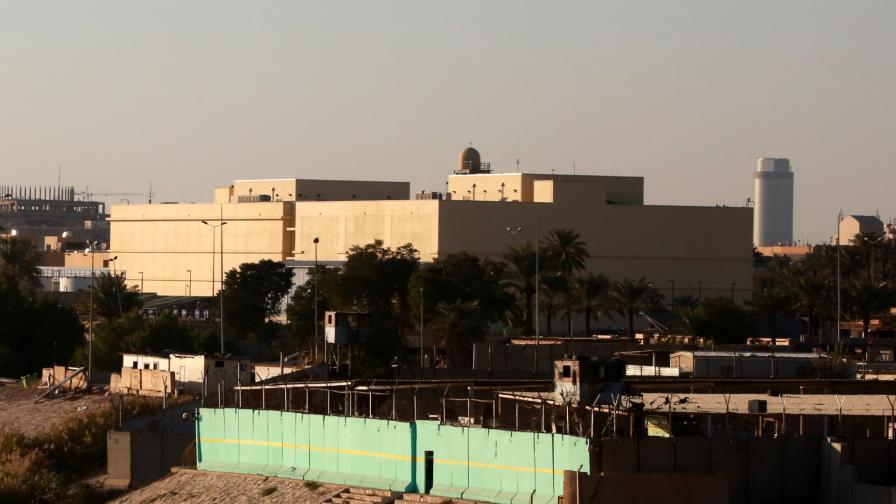 Посолството на САЩ в Багдад