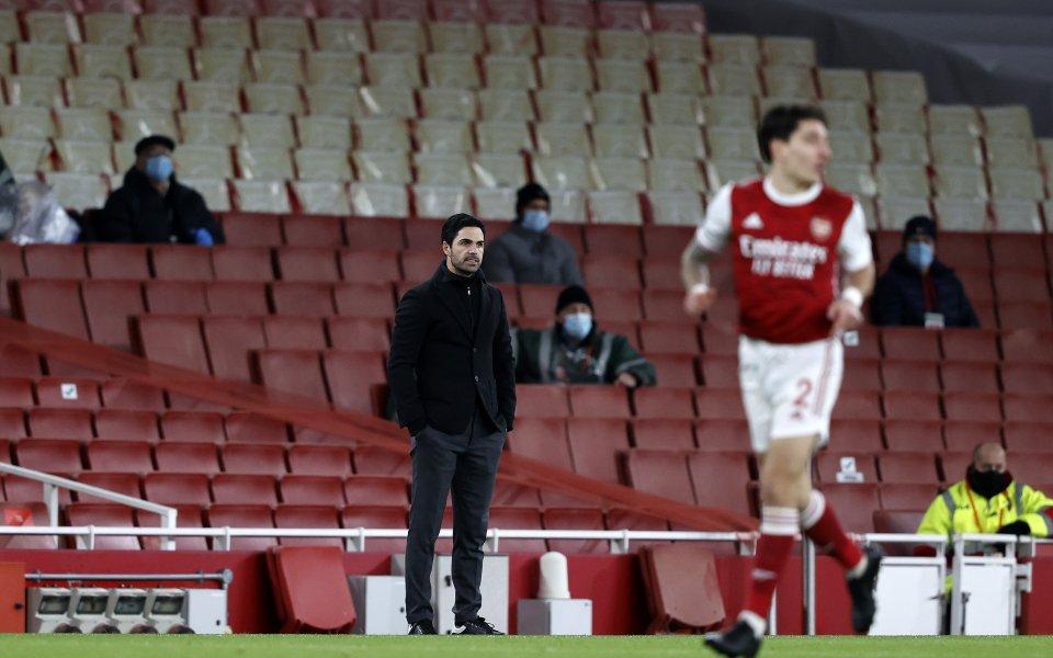 Мениджърът на Арсенал - Микел Артета, изля душата си след