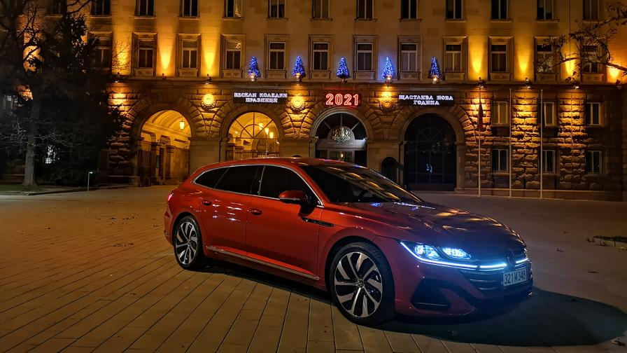 <p>Тестваме Volkswagen Arteon Shooting Brake</p>