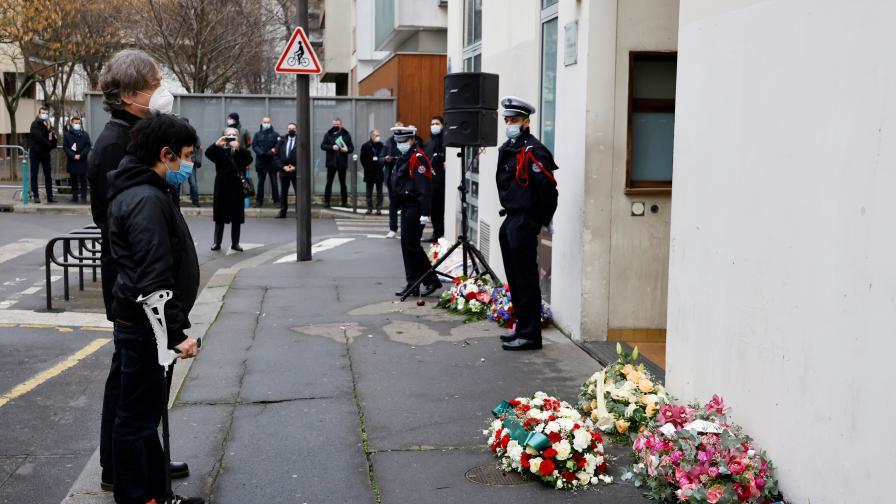 В Париж почетоха жертвите на атентатите от януари 2015 г.