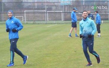 Чудесна вест за Левски: Братя Цоневи вече тренират на Герена