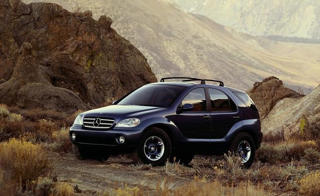 SUV историята на успеха на Mercedes започва преди 25 години