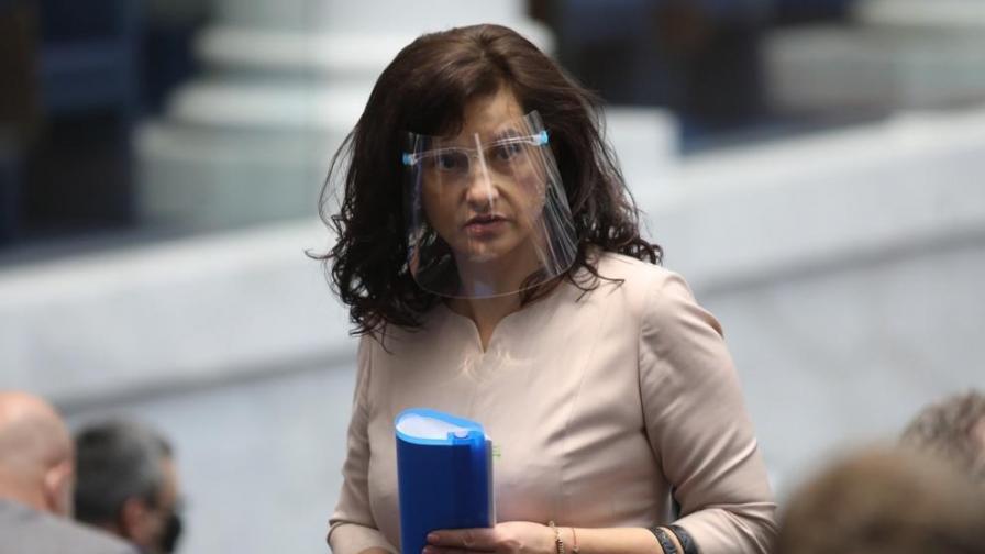 Дариткова: Имаме законопроект, позволяващ гласуване на лица под карантина