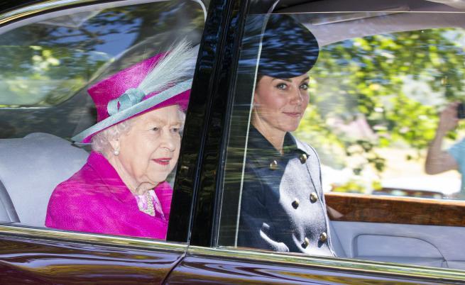 Кейт Мидълтън, Елизабет II