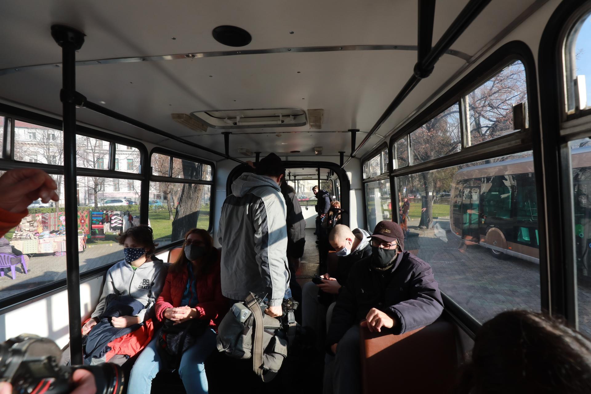 <p>Изложение на превозни средства за обществен транспорт</p>
