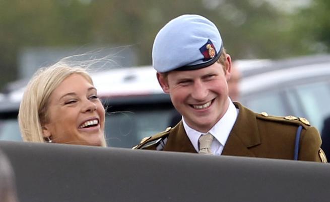 Принц Хари и Челси Дейви
