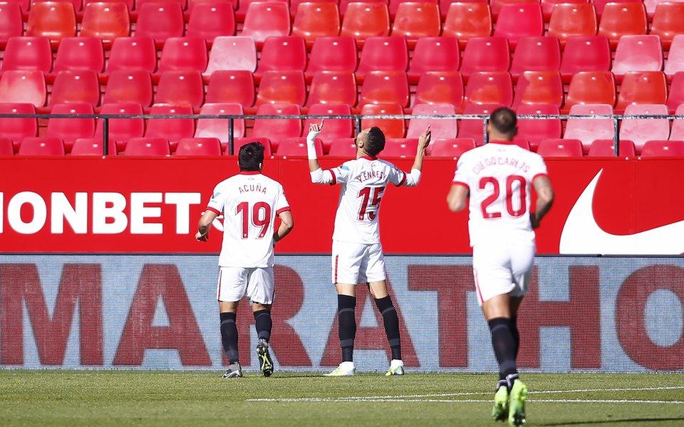 Севиля изтръгна много трудна победа срещу тим от Сегунда