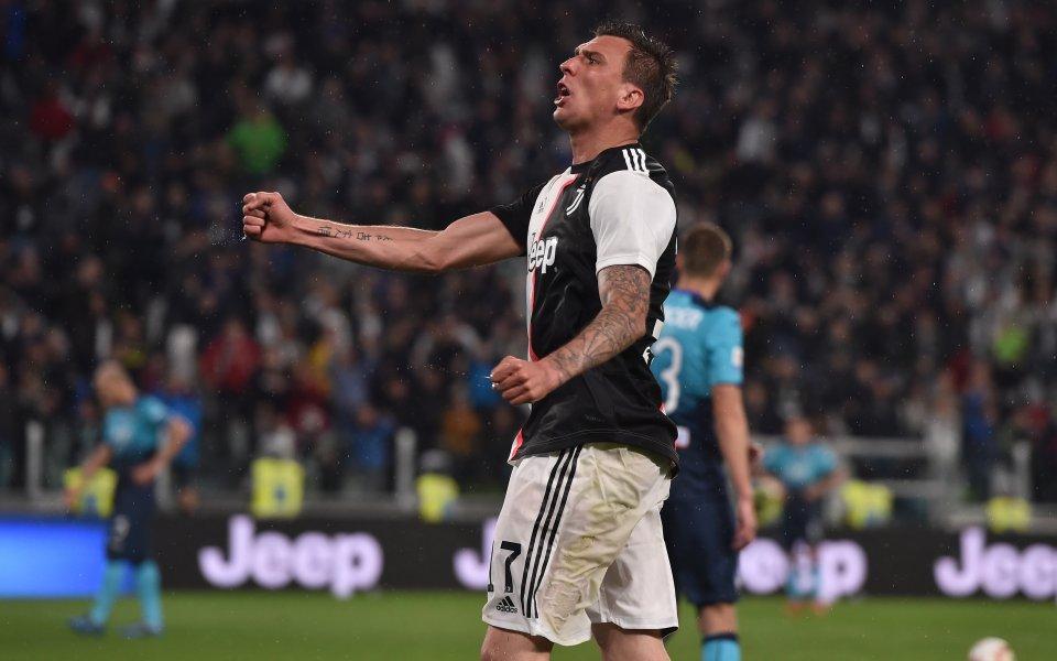 Трансферът на Марио Манджукич в Милан е неизбежен. Това съобщиха