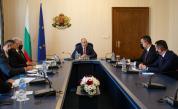 """Радев се срещна с ръководството на ББР във връзка с инициативата """"Три морета"""""""