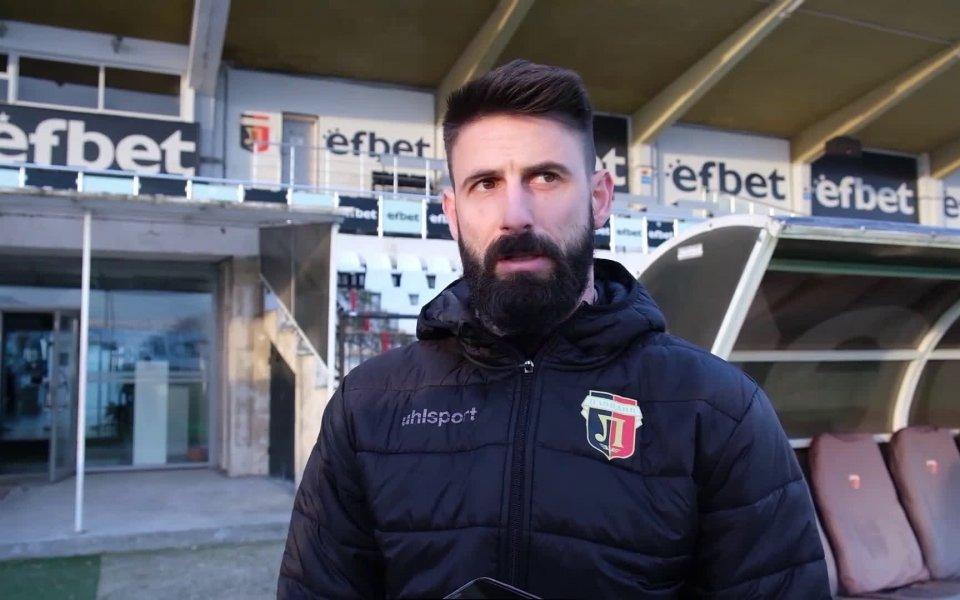 Футболист №1 на България Димитър Илиев коментира избора си и