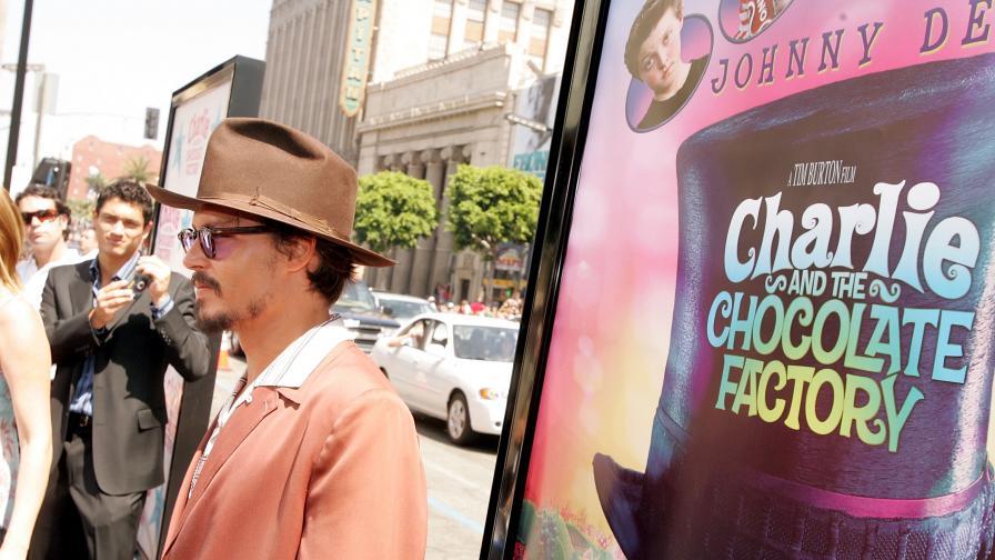 """Снимат предистория на """"Чарли и шоколадовата фабрика"""""""