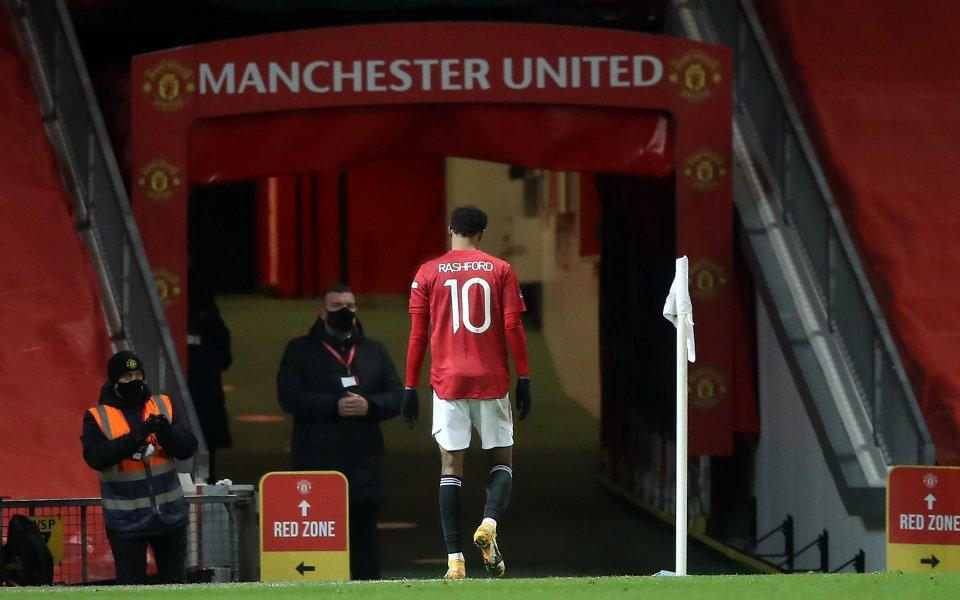 Нападателят наМанчестър ЮнайтедМаркъс Рашфордще бъде на линия за сблъсъка с