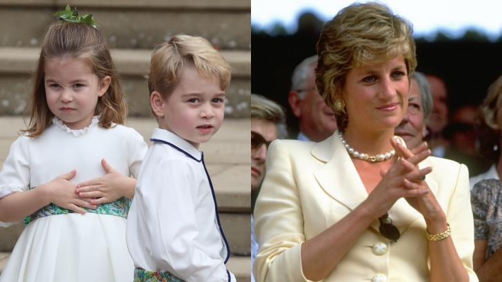 Талантът, който Джордж и Шарлът са наследили от своята баба, принцеса Даяна