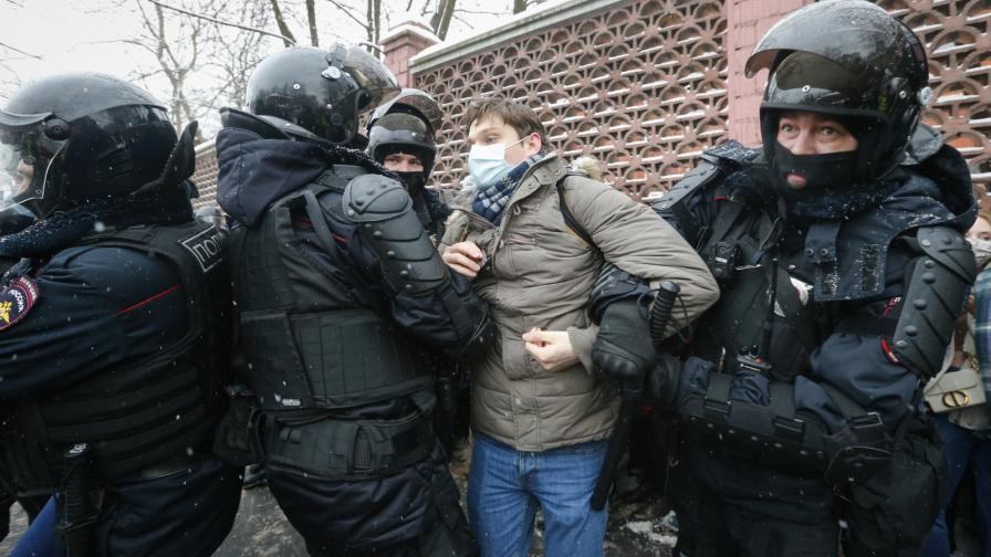 Борисов осъди използването на сила срещу протестиращи в Русия. Кремъл: Нехранимайковци и провокатори