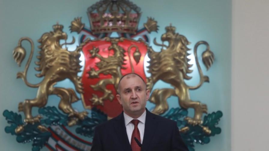 Радев обяви състава на служебното правителство
