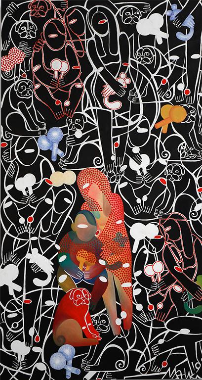 <p>Изложбата представя над 150 произведения: мащабни живописни платна, рисунки и керамични пластики, създадени през последните 25 години.</p>
