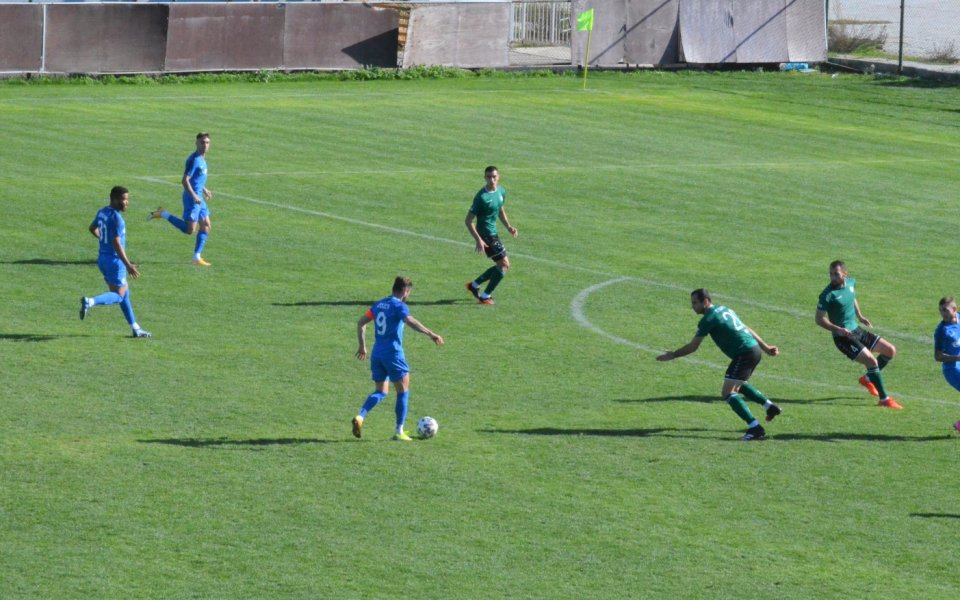 Отборът на Арда Кърджали завърши наравно 0:0 с грузинския Самгурали