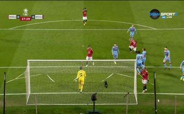 Манчестър Юнайтед - Уест Хям 0:0 /първо полувреме/