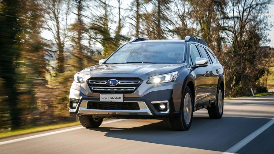 Новият Subaru Outback е произведениe на старата школа