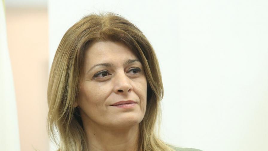 Десислава Радева е с коронавирус