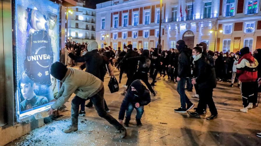 Бунтове и улично насилие в Испания
