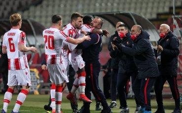 Цървена Звезда с грешна стъпка в Белград срещу молдовци, резултати от ШЛ