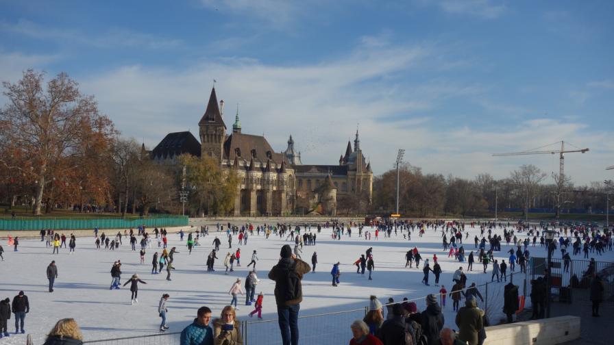 Къде се намира най-голямата ледена пързалка в Европа