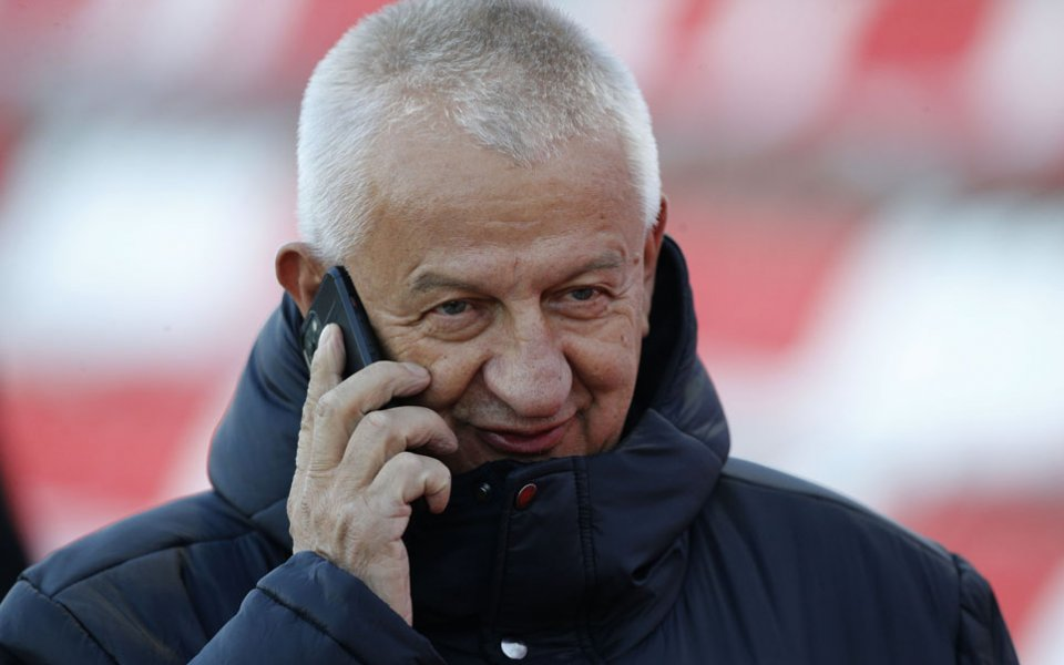 Собственикът на Локомотив Пловдив -Христо Крушарски, подготвя празник с отбора