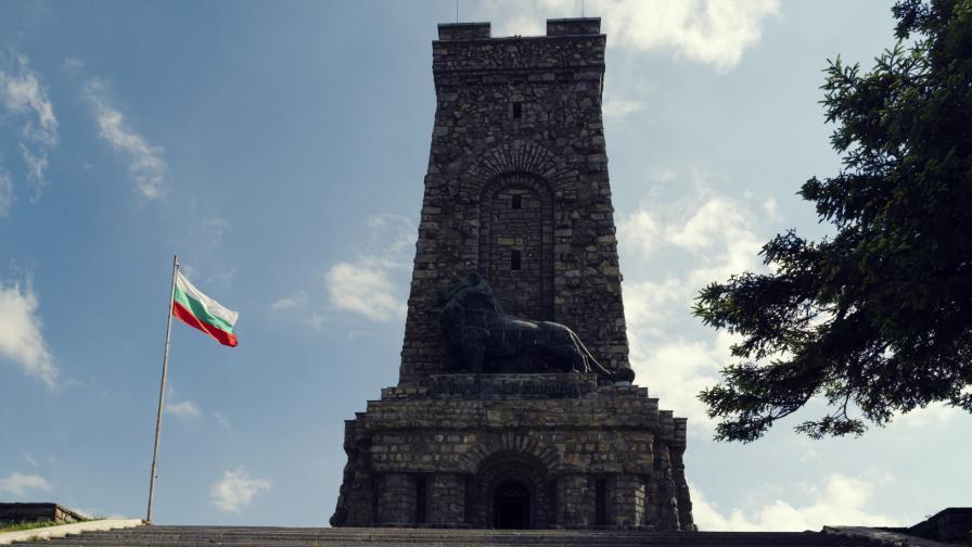 Паметникът на връх Шипка