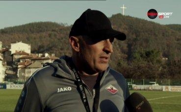Треньорът на Симитли: Корнерите ни провалиха