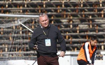 Николай Киров: Правим неща, които не тренираме