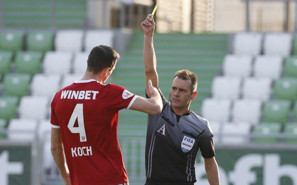 Бруно Акрапович ще смени най-малко два поста за 1/8-финала за