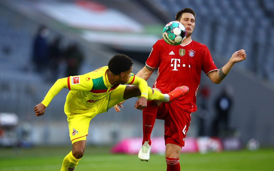 Байерн Мюнхен и Кьолн играят при 5:1 в мач от