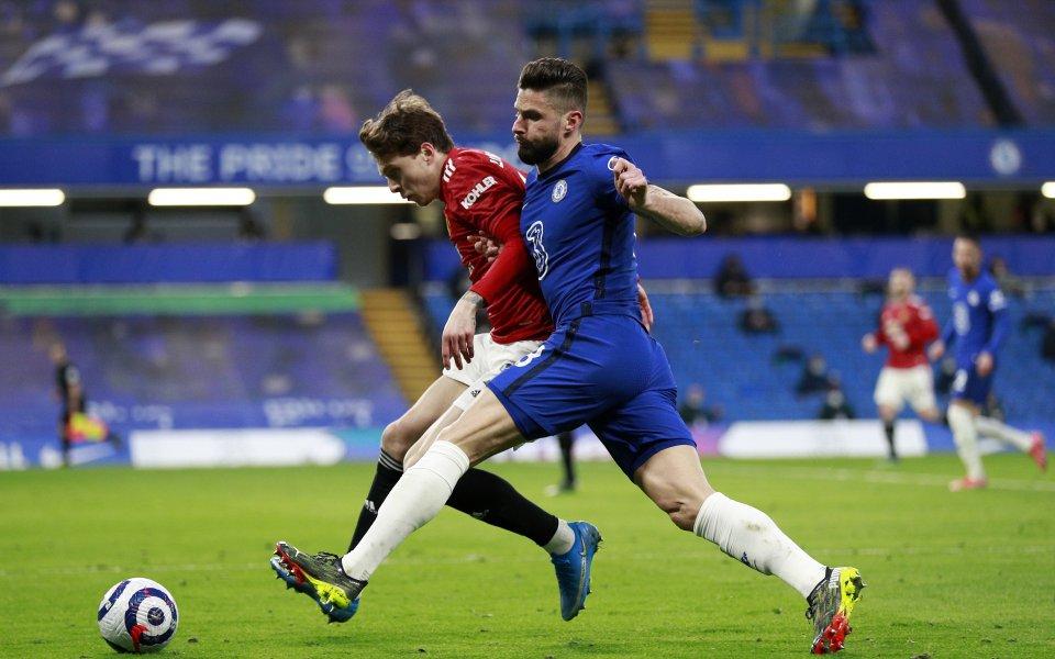Отборите на Челси и Манчестър Юнайтед играят при резултат 0:0