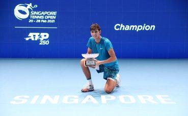 Австралиец спечели първа титла в кариерата си от турнира в Сингапур