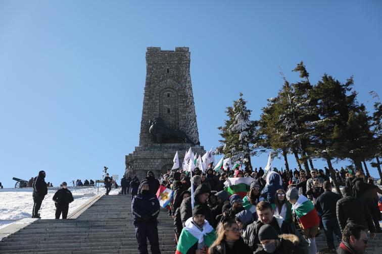 Честванията на върха свободата Шипка