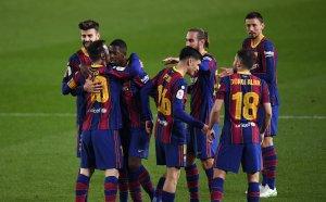 Късна драма спаси сезона на Барса, каталунците са на финал за Купата