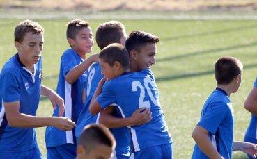 Левски U14 е на 1/4-финал за Купата на БФС, въпреки че отстъпи на Етър